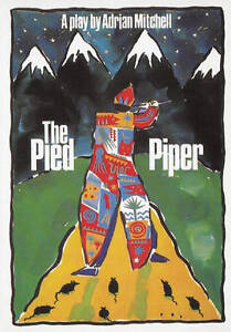 The Pied Piper, New, Mitchell, Adrian Book