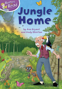 """VERY GOOD"" Bryant, Ann, Rhymes to Read: Jungle Home, Book"