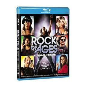 ROCK OF AGES BLU-RAY=EXTENDED EDITION=REGION B AUSTRALIA=BRAND NEW AND SEALED
