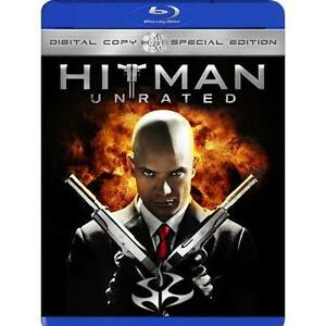 HITMAN (Blu-ray Disc, 2009, 2-Disc Set, Unrated,Digital Copy) NEW