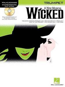 Instrumental-Play-Along-Wicked-Trumpet-Tpt-Book-Cd-Hal-Leonard-Instrumental