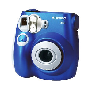Polaroid 300 3.2 MP Digital Camera - Blu...