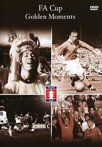 FA Cup  Golden Moments  (DVD, 2010) New/Sealed