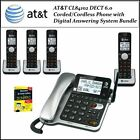1-line Cordless Telephones DECT 6.0 Handset Frequency Systems