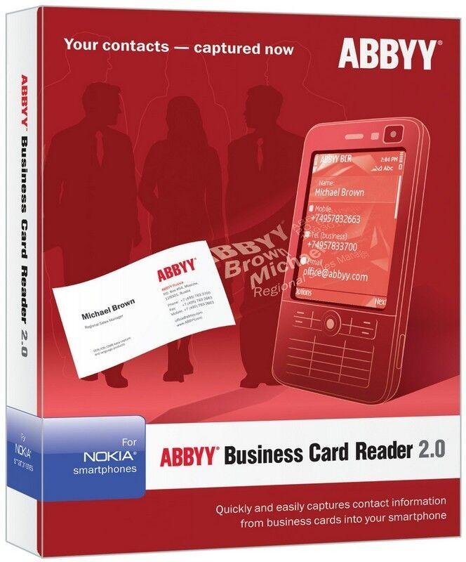 ABBYY Software ABBYY Business Card Reader 2.0 - Full Version for ...