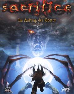 Sacrifice  - Im Auftrag der Götter  (PC) Karton Box  Eurobox  Neuware