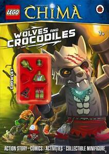 LEGO Legends of Chima: Wolves and Crocodiles Activity Book-9780723275619-G066