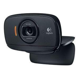 Logitech C525 Webcam - USB 2 0 8 Megapixel Interpolated 1280 x 720 Video  Auto-focus Widescreen Microphone