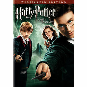 Harry Potter and the Order of the Phoenix - Year 5 (DVD, Widescreen Edition) NEW