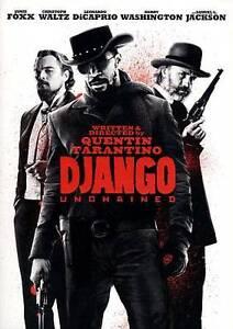 Django Unchained DVD, 2013  - $3.99