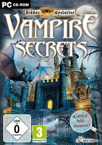Hidden Mysteries: Vampire Secrets (PC, 2010, DVD-Box) - Hoppenrade, Deutschland - Hidden Mysteries: Vampire Secrets (PC, 2010, DVD-Box) - Hoppenrade, Deutschland