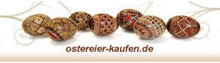 Bemalte Ostereier Shop
