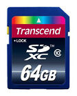 Transcend 64GB SDHC Memory Cards