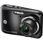GE C1440W 14.1 MP Digital Camera - Black