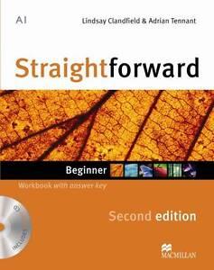 Straightforward 2nd Edition Beginner Wor, Lindsay Clandfield, Acceptable Book