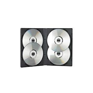 Wissen wohin mit DVDs: Leerboxen mit Aufbewahrungssystem
