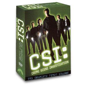 CSI Crime Scene Investigation  The Complete First Season DVD 2003 6Disc - Enid, Oklahoma, United States - CSI Crime Scene Investigation  The Complete First Season DVD 2003 6Disc - Enid, Oklahoma, United States