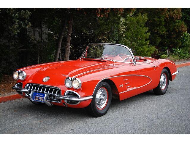 1958 corvette for sale texas autos weblog. Black Bedroom Furniture Sets. Home Design Ideas