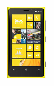 Nokia-Lumia-920-32GB-Yellow-New-Unlocked-Smartphone-WP8-NFC-Front