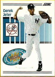 1993 Score Derek Jeter New York Yankees 489 Baseball Card