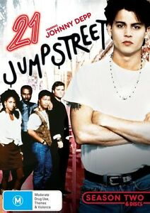 21 Jump Street : Season 2 (DVD, 2012, 6-Disc Set)