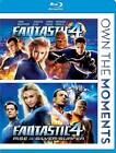 Fantastic Four/Fantastic Four: Rise of the Silver Surfer (Blu-ray Disc, 2012, 2-Disc Set)