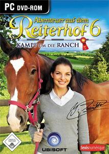 Abenteuer auf dem Reiterhof 6 PC Spiel : Kampf um die Ranch PC Top mit Handbuch