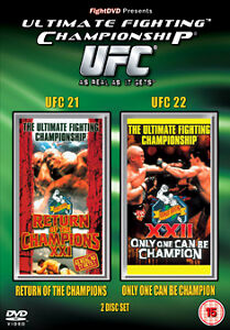 UFC 21 And 22 [DVD] Ultimate Fighting Championship Brand New and Sealed