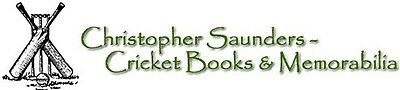 Christopher Saunders Cricket Books