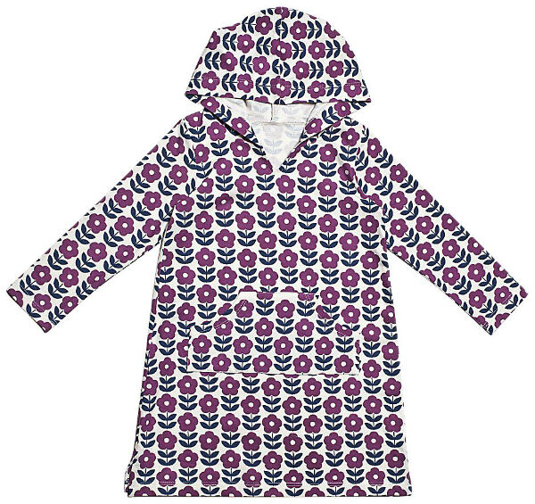 Girly Flower Print Hoodies