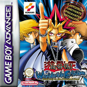 Yu-Gi-Oh Worldwide Edition Nintendo Gameboy Advance