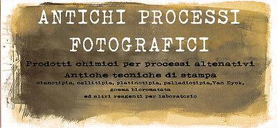 ANTICHI PROCESSI FOTOGRAFICI