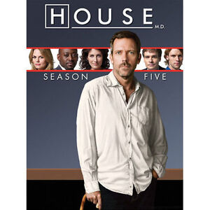 House: Season Five (DVD, 2009, 5-Disc Se...