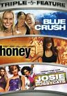 Blue Crush/Honey/Josie and the Pussycats (DVD, 2007, 2-Disc Set, Universal Triple Feature)