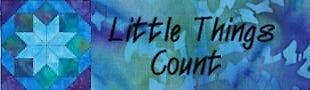 Little Things Count