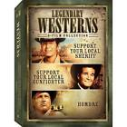 Legendary Westerns - 3 Pack (DVD, 2008, 3-Disc Set, Checkpoint; Sensormatic; Widescreen)