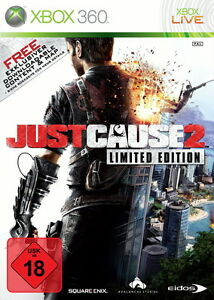 Just Cause 2 -- Limited Edition Microsoft Xbox 360, 2010, DVD-Box DS-1492