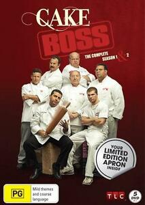 Cake Boss : Season 1 & 2 (Includes Limited Edition Apron) : NEW DVD