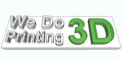 wedo3dprinting