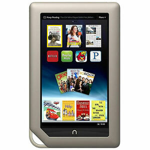 Barnes-Noble-NOOK-Tablet-8GB-Wi-Fi-7in-Silver-NEW-SEALED