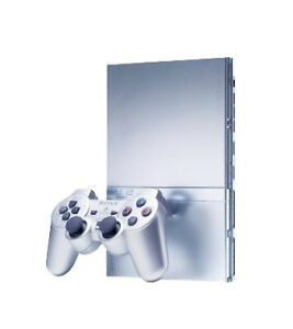 Sony-PlayStation-2-Slim-Satin-Silver-Console-NTSC-SCPH-79001-PS2