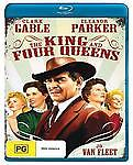THE KING AND FOUR QUEENS - (CLARK GABLE) - BLU-RAY - BRAND NEW!!! SEALED!!!