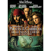 Pirates of The Caribbean Dead Mans Chest DVD