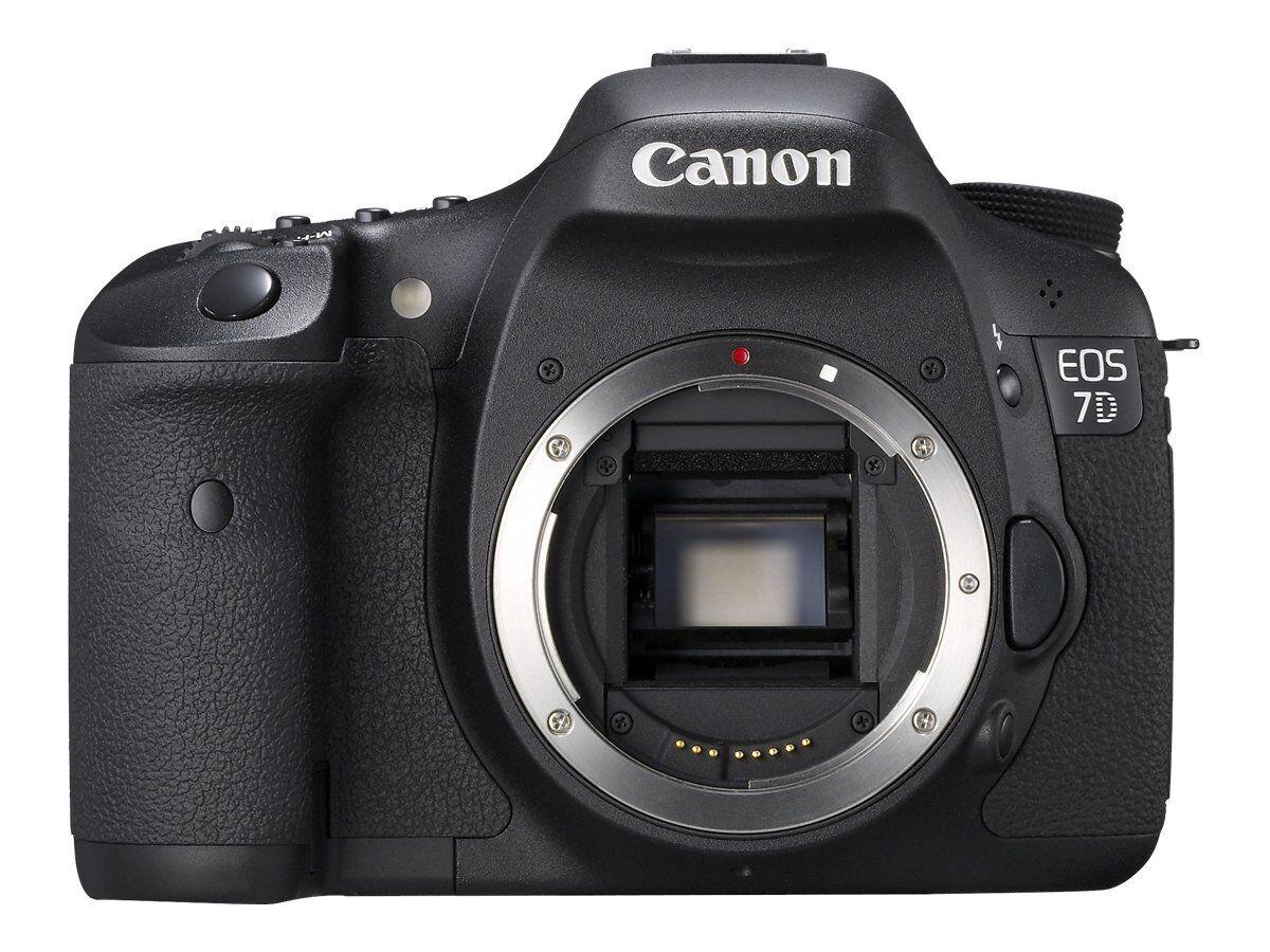 eBay: Canon EOS 7D 18.0 MP SLR-Digitalkamera - Schwarz Nur Gehäuse
