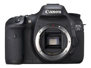 Canon EOS 7D 18.0 MP Digital SLR Camera ...