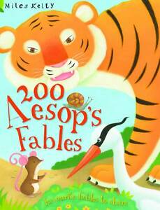 200-Aesops-Fables-by-Miles-Kelly-Publishing-Ltd-Paperback-2012