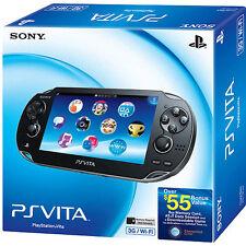 Sony PlayStation Vita (Latest Model)- Launch Bundle Black Handheld System (Wi-Fi