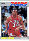 Rookie Charles Barkley Original Basketball Trading Cards