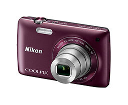 Nikon 26332 COOLPIX S4300 16 MP Digital Camera W/ 6x Zoom NIKKOR Glass Lens