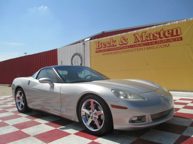 listing expired 2005 silver corvette coupe for sale. Black Bedroom Furniture Sets. Home Design Ideas
